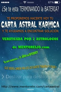 Carta Astral Karmica